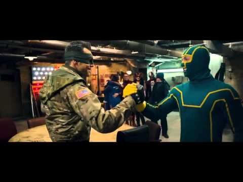 Kick-Ass 2: Balls to the Wall Official Trailer #2 (2013) HD Jim Carey