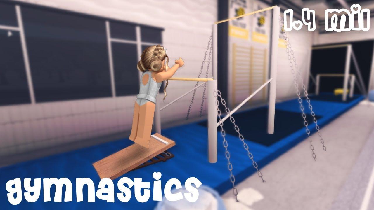 Gymnastics Gym tour [ ROBLOX BLOXBURG ]