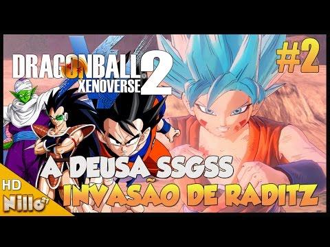 dragon-ball-xenoverse-2,-#2-a-ameaça-de-raditz/-o-retorno-da-deusa-ssgss---nillo21.