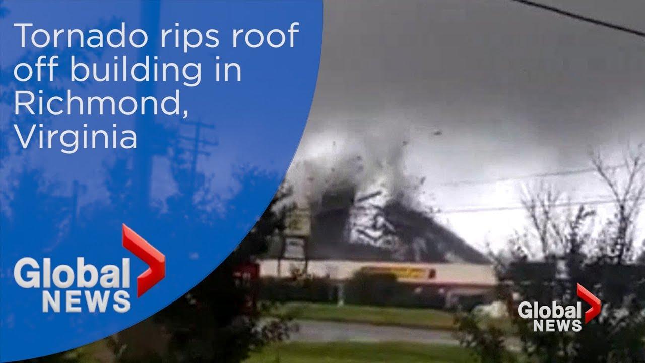 Tornado touches down as outer bands of Florence reach Richmond, Virginia