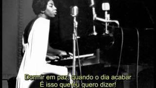 Nina Simone   Feeling Good  Lyrics in PT BR