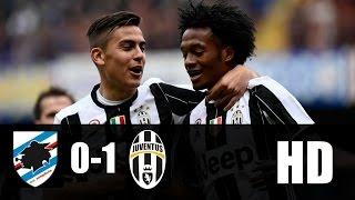 Sampdoria vs Juventus 0-1 RESUMEN COMPLETO 2017 HD