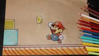 Super Mario Speed Drawing