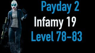 Payday 2 Infamy 19 | Part 3 | Level 78-83 | Xbox One