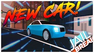 ROBLOX JAILBREAK NEW CAR RELEASE DAY AND INFORMATION! ROLL ROYCE WRAITH AND WIND TURBIND!