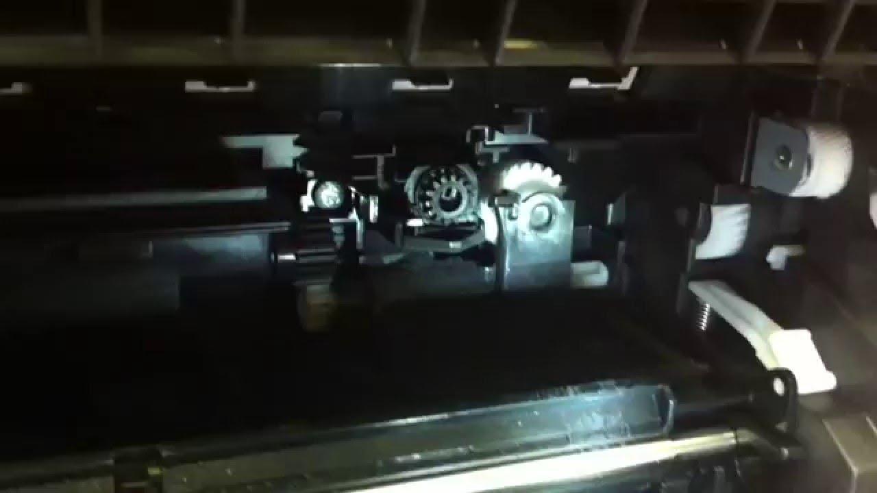 Шестерни блока проявки Kyocera DV-1110 - YouTube