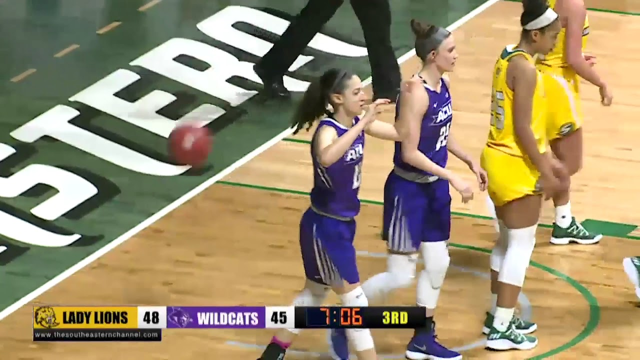 ACU Women's Basketball | ACU vs SLU - YouTube