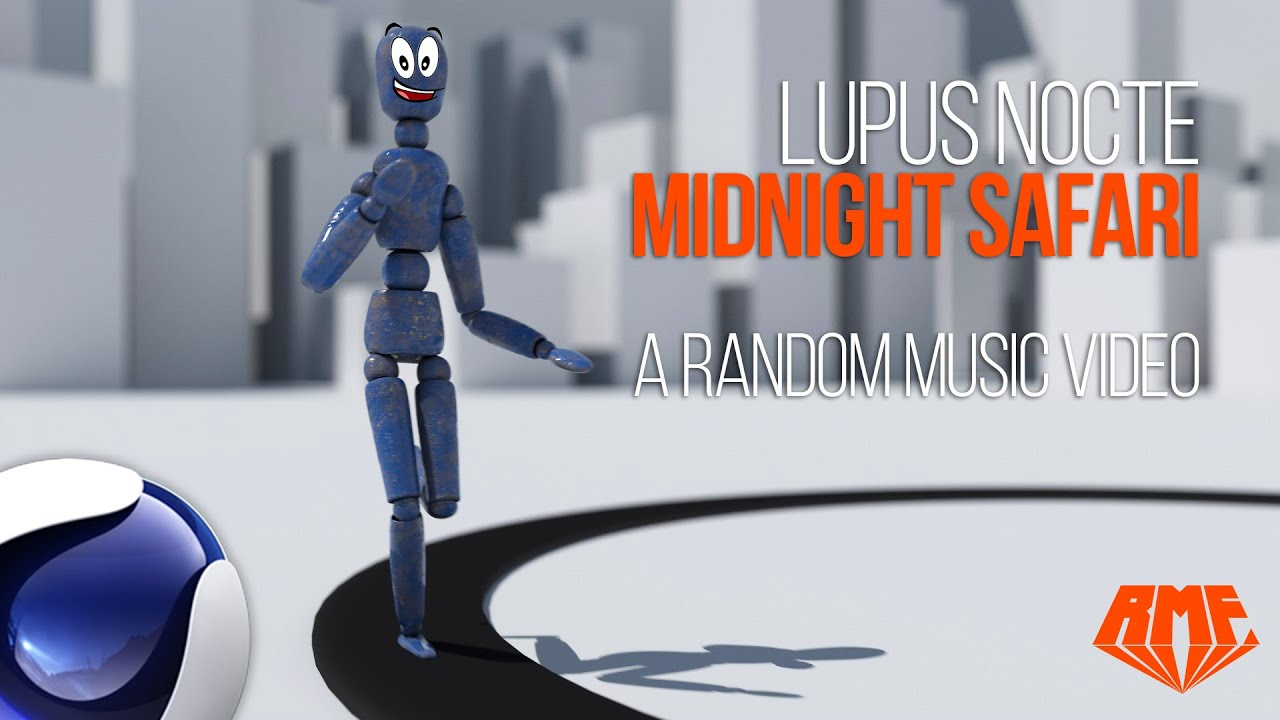 Lupus Nocte - Midnight Safari - Random Music Video featuring Blue RagDoll