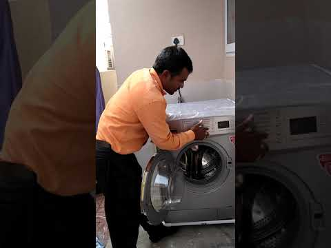 IFB 6.5Kg Washing Machine Demo Part 1 - Telugu