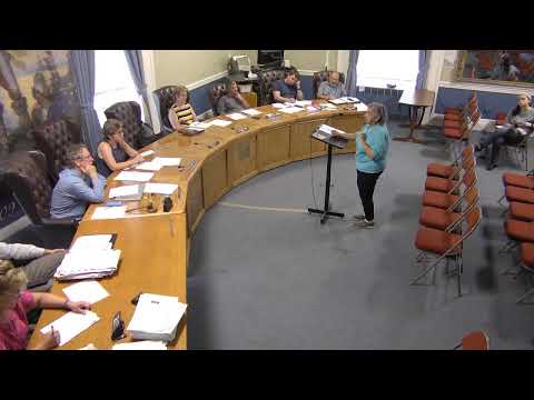 City of Plattsburgh, NY Meeting  8-8-19