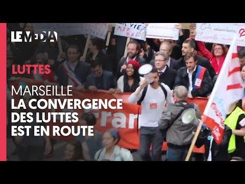 CONVERGENCE DES LUTTES À MARSEILLE : SYNDICATS, MOUVEMENTS, PARTIS ET ASSOCIATIONS RÉUNIS