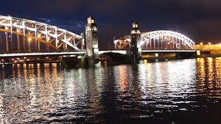 Разводка Большеохтинского моста: взгляд изнутри