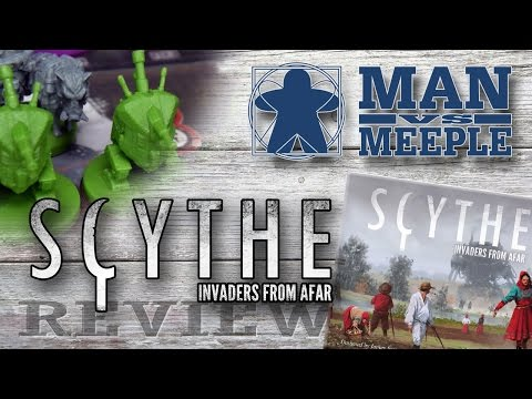 Scythe: Invaders from Afar (Stonemaier Games) Review by Man Vs Meeple