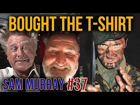 Royal Marines Commando LEGEND | Wim Hof Method | Sam Murray | Bought The T-Shirt Podcast #37