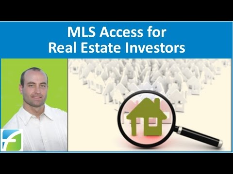 MLS Access for Real Estate Investors