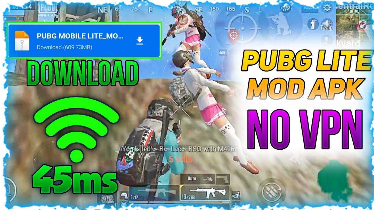 PUBG MOBILE LITE MOD APK WITHOUT VPN GAME OPEN |  PUBG LITE SERVER PROBLEM FIX  @GoDPraveen YT