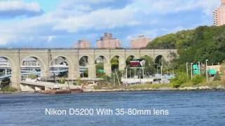 nikon d5200 con lente 35 80mm video test
