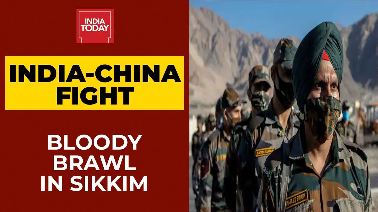 Download India-China Border Fight | Bloody Brawl In North Sikkim's Naku La