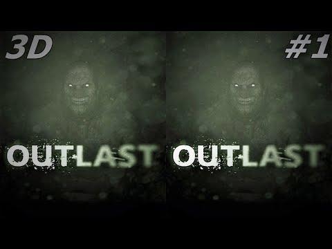Outlast 3D VR box TV Side by Side SBS google cardboard video # 1