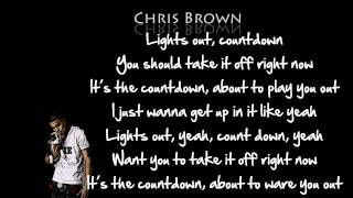Chris Brown Countdown Lyrics