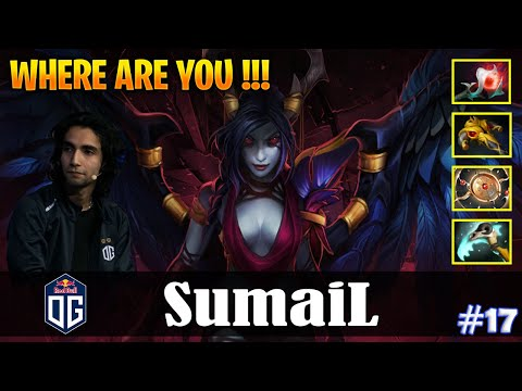 SumaiL - Queen Of Pain MID | WHERE ARE YOU !!! | Dota 2 Pro MMR Gameplay #17