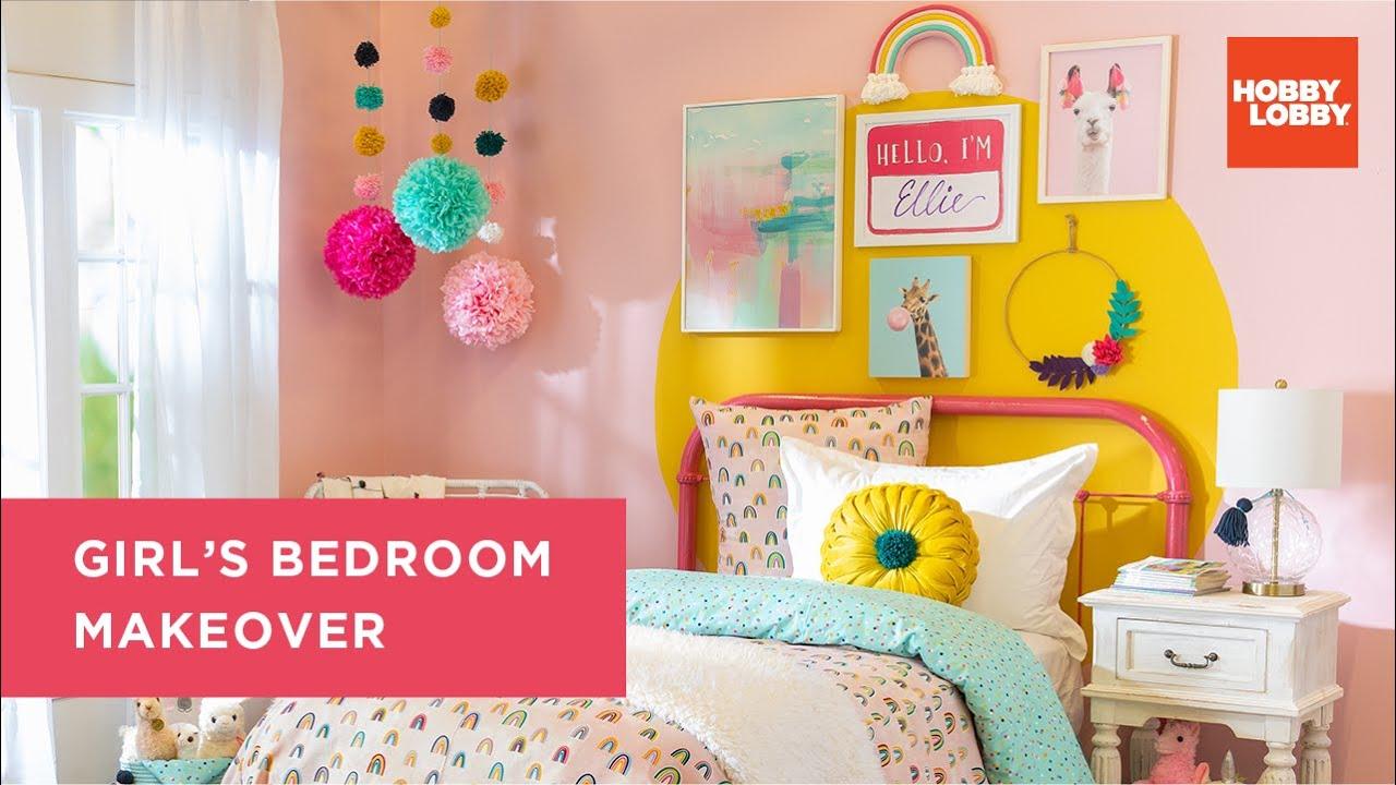 Girl's Bedroom Makeover | Hobby Lobby®