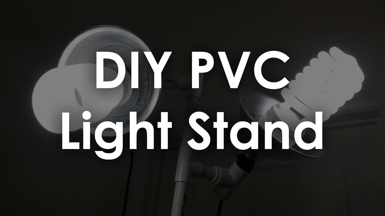 DIY PVC Light Stand Maker Guide Episode 3