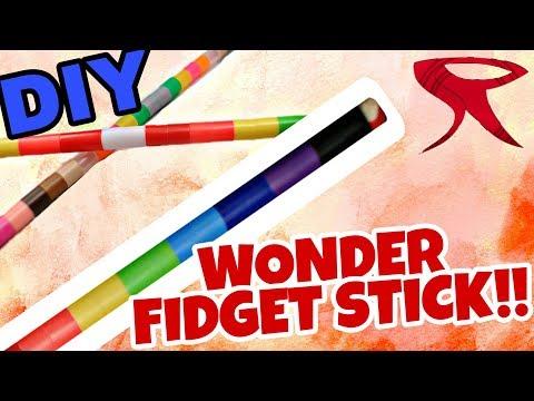 DIY Perler Wonder fidget stick | Tutorial