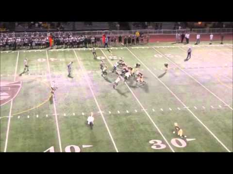Areg Nazarian #22 St Francis High School ALL-CIF RB Spin Move Vs Canyon