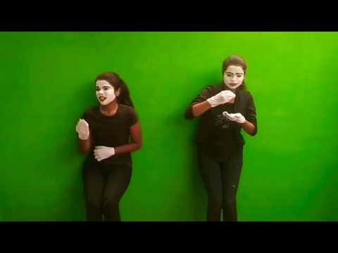 Salem Girls|Mimes painting show Dont waste food|Mimes painti