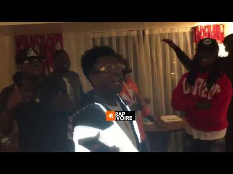 Part 2 - Freestyle KIFF NO BEAT & Stanley Enow a LAGOS ( Nigeria )