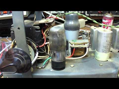 1950's Murphy British Radio model TA154 repair (part 1)