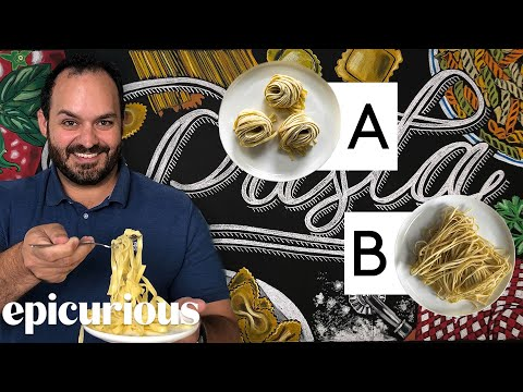 Pasta Expert Guesses Cheap vs Expensive Pasta | Price Points | Epicurious