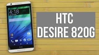Розпакування HTC Desire 820G White Dual Sim