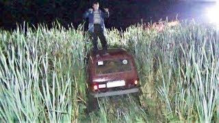 Ночная авантюра в Курумоче. Нива и Шеви Нива в грязи