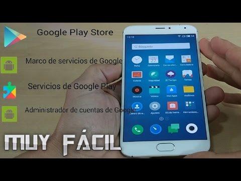 Instalar Play Store + Marco servicios + Google Play Services.