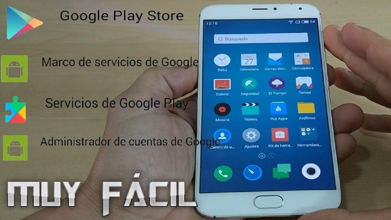 Instalar Play Store + Marco servicios + Google Play Services. - YouTube