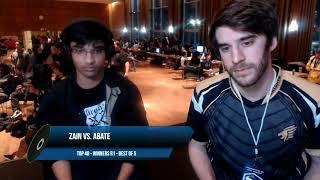 Smash Valley 7 - Zain (Marth) vs. Sir   Abate (Luigi) - SSBM - Top 48, Winners R1
