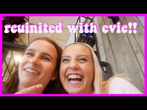reunited with evie finally -daily vlog one
