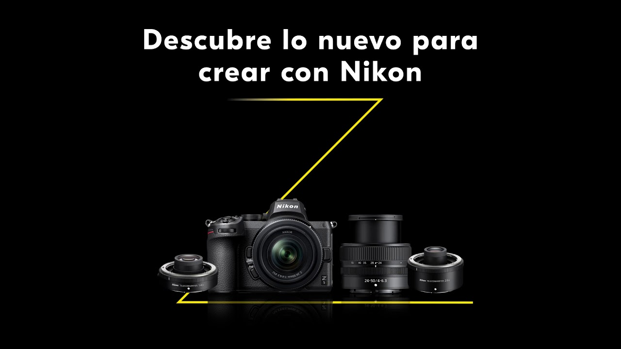 Descubre lo último en tecnología Nikon para crear sin límites.