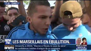 Ambiance déjà très chaude à Marseille avant le match face à Salzbourg