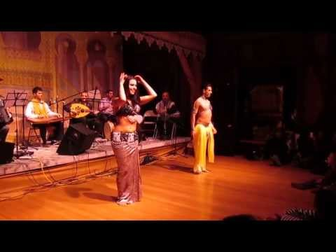 Wahashtini with Male Bellydancer Zadiel Sasmaz & Ziva Emtiyaz Arabic Concert Middle Eastern Dance