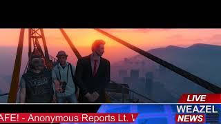 Highlight: GTA RP [Revo]  - Gene Weathers - WEAZEL News - Atop the Crane interview