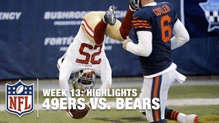49ers vs. Bears | Week 13 Highlights | NFL