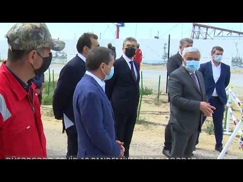 Caspian Drilling Company LTD-nin Karantin düşərgəsi ilə tanışlıq