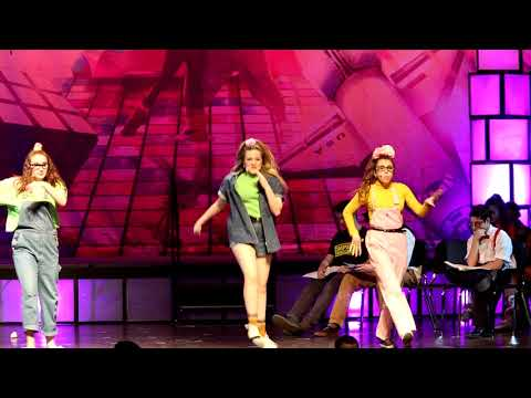 """""""Let's Hear It For The Boy"""" from the play:  Back To The 80's.  Lakeland Regional High School"""