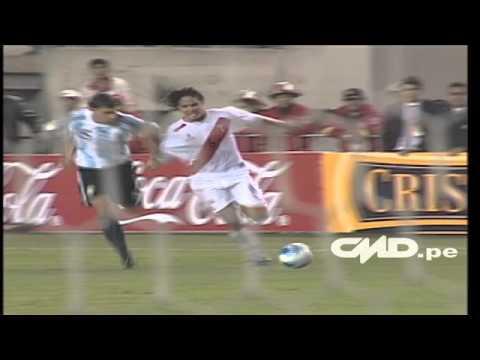 Con los huev... de Vargas: gol de Fano a Argentina