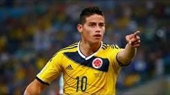 TopTen der besten Torschützen [WM 2014 Brazil]