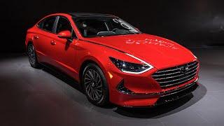 Hyundai reveals new Sonata Hybrid at Chicago Auto Show 2020