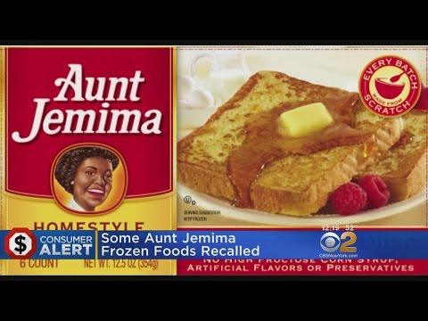 Aunt Jemima Frozen Breakfast Foods Recalled